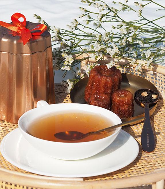 L'incontournable thé au canelé